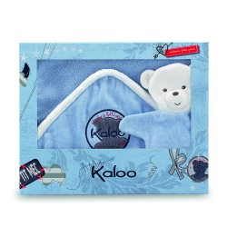 Kaloo Blue Denim Bath Set