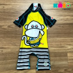Scimia Banana Sunsuit