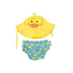 Ducky Baby Swim Diaper & Sun Hat Set