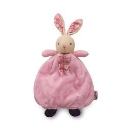 Petite Rose Rabbit Doudou Comforter Blankie Puppet by Kaloo