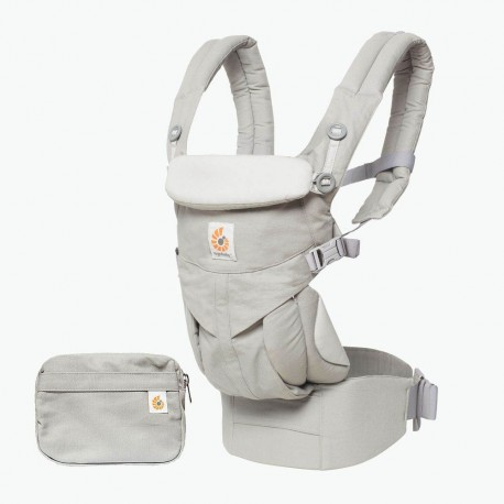 Omni 360 Baby Carrier All-In-One: Pearl Grey by ErgoBaby