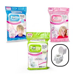 Toilet Seat Covers - Disposable XL Potty Seat Covers by Potty Shields