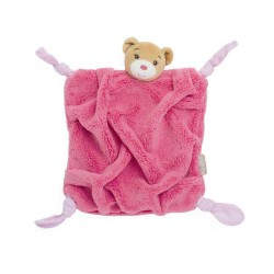 Plume Bear DouDou Raspberry by Kaloo