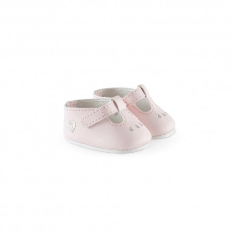 """Ankle Strap Shoes Pink for 14"""" dolls by Corolle"""
