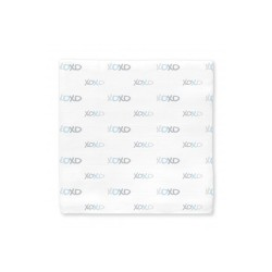 Muslin Swaddle Blanket XOXO Blue by Swaddle Designs