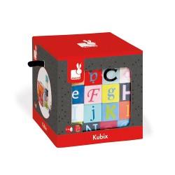 Kubix – 40 Letter + Number Blocks by Janod