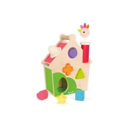 """Zigolos"" Hen Activities House by Janod"