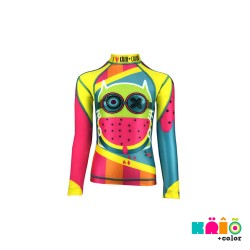 Krio Zipper Rashguard Long Sleeve - Gatto Watermelon