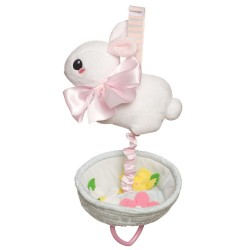 Lullaby Buny Pull Musical Toy by Manhattan Toy