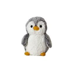 "Aurora PomPom Penguin Rattle 5"""