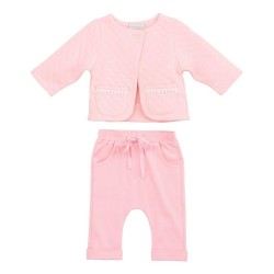 Rose Organic Baby Jacket and Pants by Elegantbaby