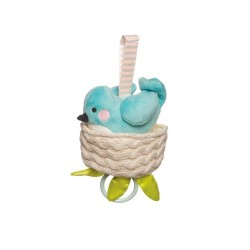 Lullaby Bird Pull Musical Toy by Manhattan Toy Co