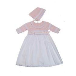 Karela Pink Knitted Dress Knitted Gift Set