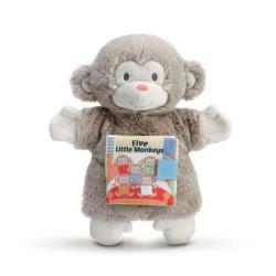 Five Little Monkeys Puppet Book by Demdaco