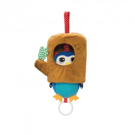 Lullaby Owl Pull Musical Toy by Manhattan Toy Co