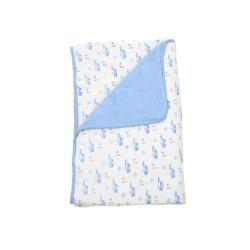 Kite Printed Baby Blanket - Ocean
