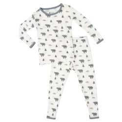 Kyte Printed Pajama Set - Creek