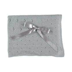 Juliana Pearl Grey Blanket