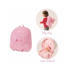 Mon Premier Diaper Backpack