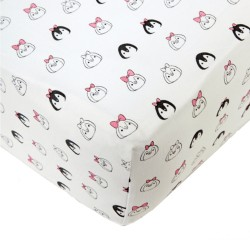 Noomie Crib Sheet - Penguin
