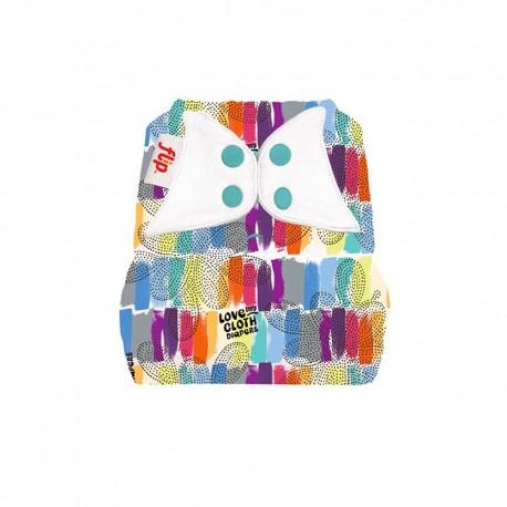 Flip Cloth Diaper Cover - Love