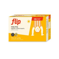 Flip Organic Day Time Inserts - 3 pack