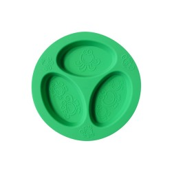 Oogaa® Silicone Divided Plate
