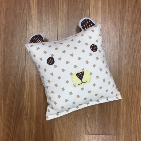 Bear Pillow - Brown